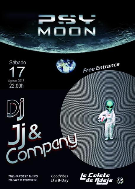 Party Flyer PSYMOON 17 Aug '13, 22:00