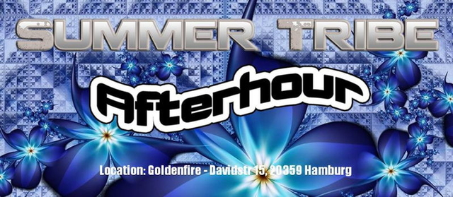"""Party Flyer ★★★ SUMMER TRIBE """"AFTER HOUR"""" ★★★ 17 Aug '13, 22:00"""