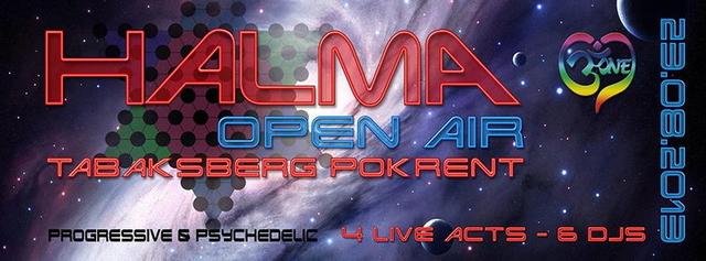 Party Flyer HALMA Open Air 23 Aug '13, 20:00