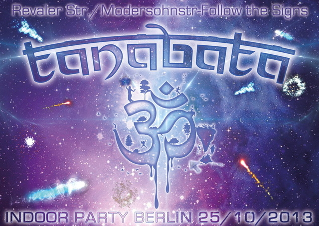 Party Flyer Tanabata INDOOR 25 Oct '13, 23:30