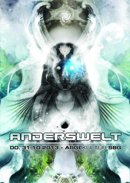 Party Flyer Anderswelt - Halloween with Neelix 31 Oct '13, 22:00