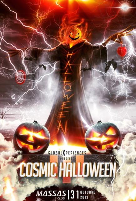 Party Flyer Cosmic Halloween III 31 Oct '13, 23:30