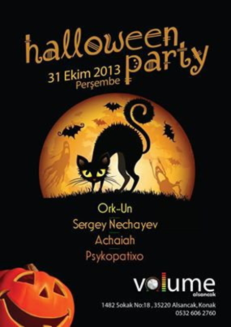 Party Flyer Halloween Party 31 Oct '13, 22:00