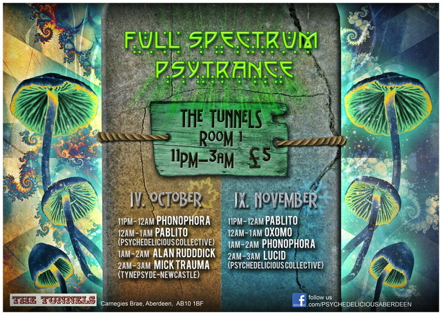 Party Flyer Psychedelicious November Nihilsm 9 Nov '13, 23:00