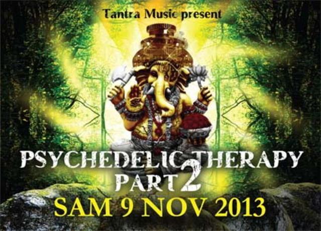 Party Flyer PSYCHEDLIC THERAPY Part2 9 Nov '13, 21:00