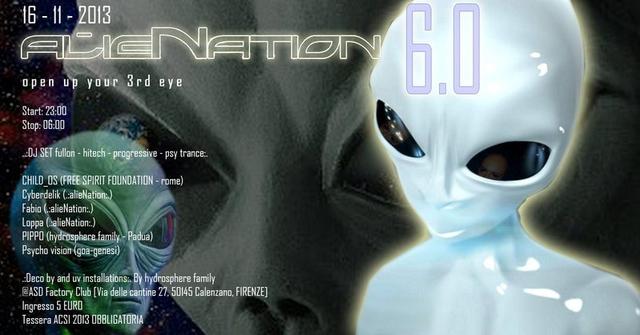Party Flyer .:alieNation:. 6.0 16 Nov '13, 23:00