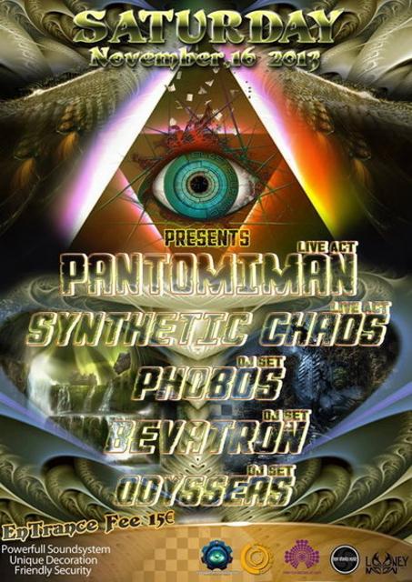 Party Flyer Blast Your Mind Presents: 16 Nov '13, 23:30