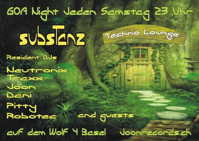 Party Flyer subsTanz goa night 16 Nov '13, 22:00