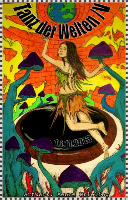 Party Flyer Tanz der Welten 4 16 Nov '13, 23:00