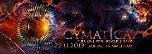 Party Flyer Cymatica 22 Nov '13, 22:00