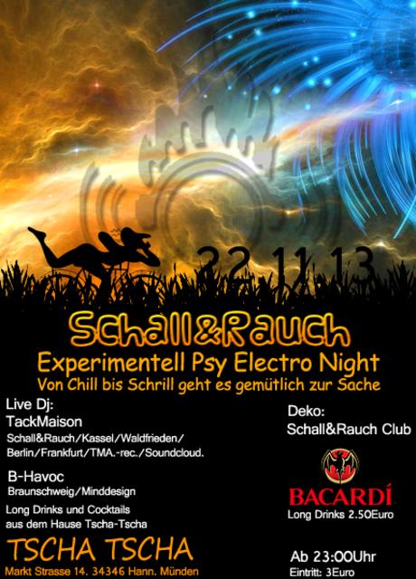 Party Flyer Schall & Rauch 22 Nov '13, 23:00