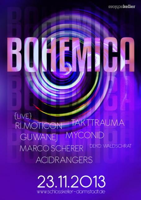 Party Flyer Bohemica 23 Nov '13, 23:00