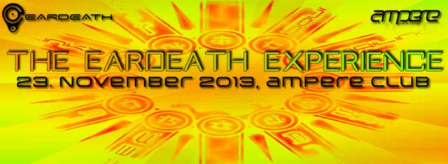 Party Flyer THE EARDEATH EXPERIENCE    DYNAMIC BASTARDS, SHINOUDA, SIMPLY D, CÄMIX, CAROLA 23 Nov '13, 23:00