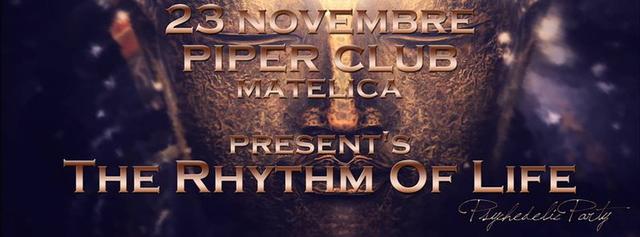 Party Flyer THE RHYTHM OF LIFE 23 Nov '13, 22:00