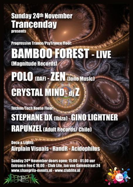 Party Flyer Shangri La Trancenday 24 Nov '13, 15:00