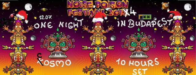 Party Flyer COSMO 10h SET!!! Presented by PSYBABA Rec. 7 Dec '13, 22:00