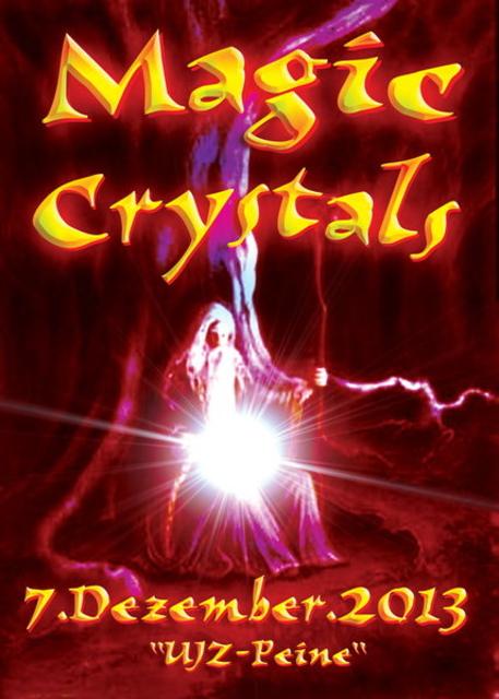 Party Flyer Magic Crystals 7 Dec '13, 23:30