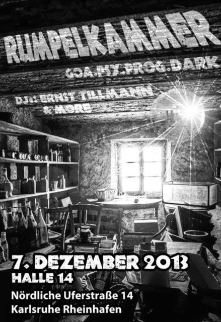 Party Flyer Rumpelkammer 7 Dec '13, 23:00