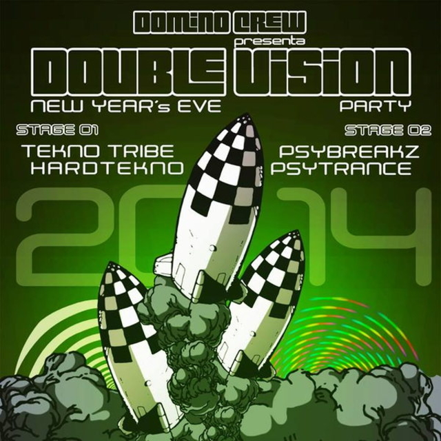 Party Flyer ★★★ DOUBLE VISION NEW YEAR'S EVE PARTY ★★★ 31 Dec '13, 23:30