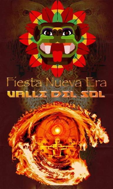 Party Flyer ** FIESTA NUEVA ERA 2014 ** - Valle del Sol - 31 Dec '13, 22:00