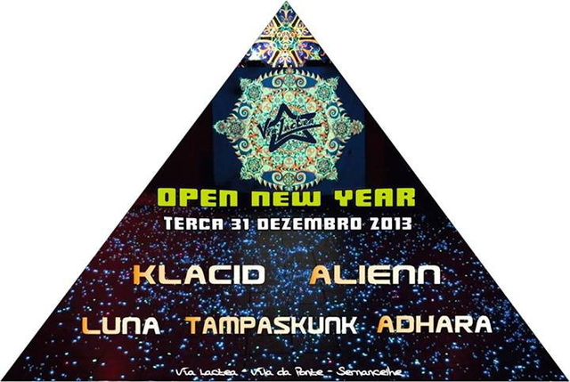 Party Flyer Open New Year 31 Dec '13, 23:30