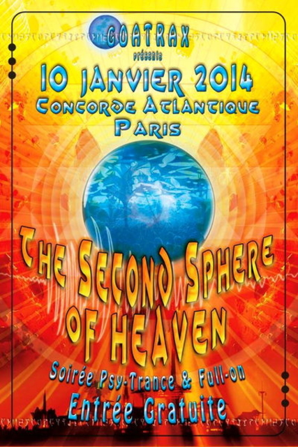 THE SECONDE SPHERE OF HEAVEN 10 Jan '14, 23:30