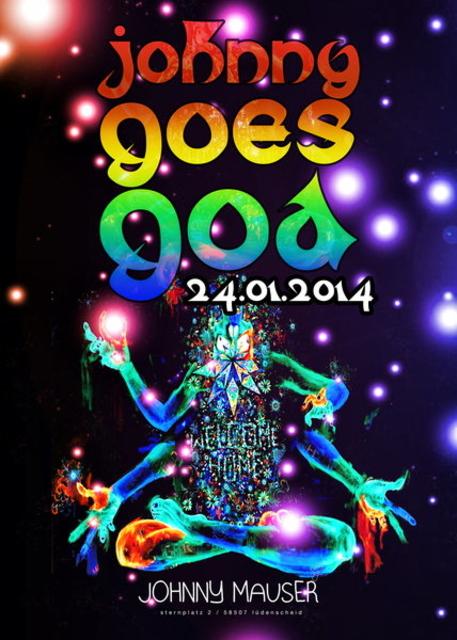 Party Flyer Johnny goes Goa 24 Jan '14, 22:00