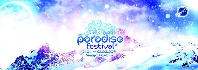 Party Flyer PARADISE WINTER FESTIVAL 2014 31 Jan '14, 21:00
