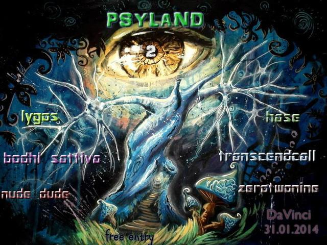 Party Flyer Psyland 2 31 Jan '14, 22:00