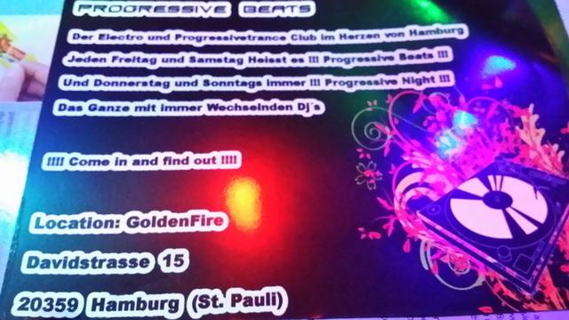Party Flyer Goldenfire Proggy 1 Feb '14, 22:00