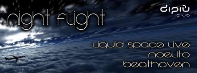 Party Flyer Night Flight 1 Feb '14, 22:00
