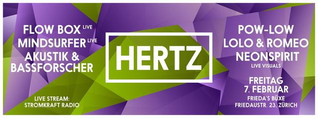 Party Flyer HERTZ 7 Feb '14, 23:00