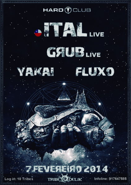 Party Flyer ::: ITAL Live ::: 7 Feb '14, 23:30
