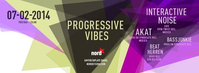 Party Flyer Progressive Vibes 7 Feb '14, 23:00