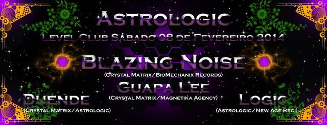 Party Flyer Level Club @ #40 Astrologic Party 8 Feb '14, 23:30