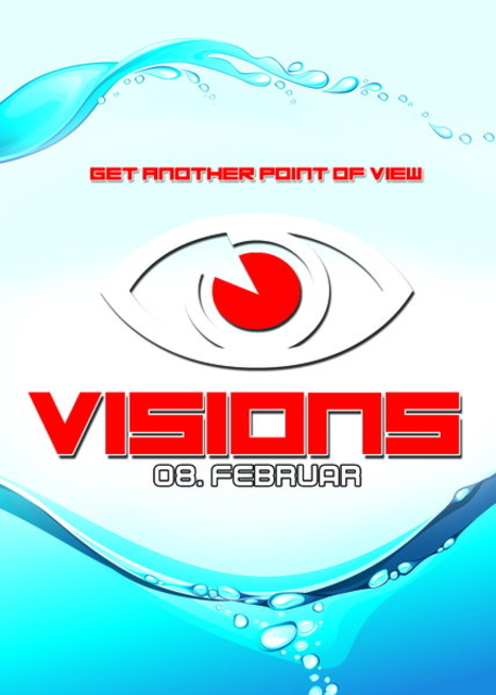 Party Flyer Visions 8 Feb '14, 23:00