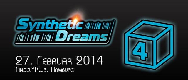 Party Flyer PsychedelicPiloten Pres. Synthetic Dreams 4 27 Feb '14, 21:00