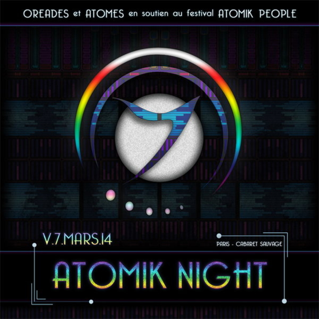 Party Flyer Atomik Night 7 Mar '14, 23:00