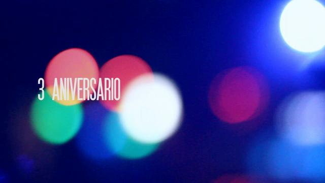 Party Flyer 3ER Aniversario ASHKARI PROJECT + release OCCULTA VA compiled by Fluoelf 7 Mar '14, 22:30