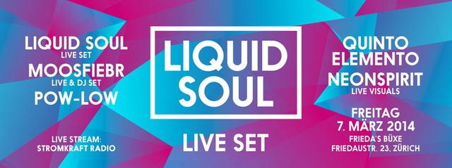 Party Flyer HERTZ feat. LIQUID SOUL live 7 Mar '14, 23:00