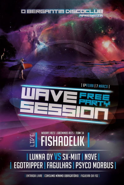 Party Flyer Wave Session #01 ***FREE PARTY*** 7 Mar '14, 23:30