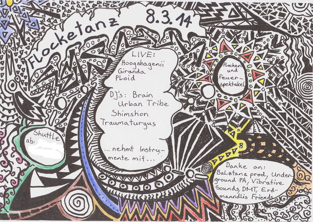 Party Flyer Flockentanz 8 Mar '14, 22:00