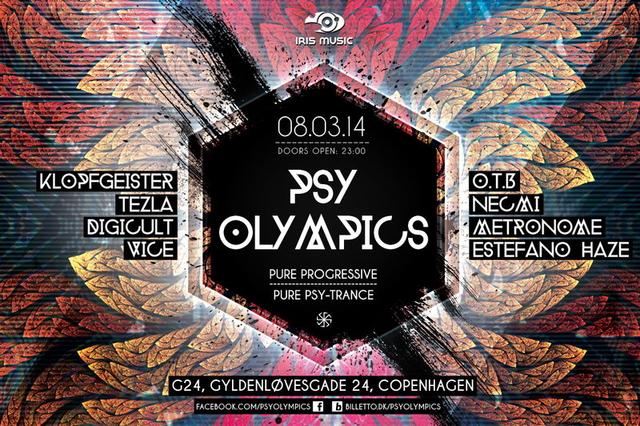 Party Flyer Psy Olympics 8 Mar '14, 23:00