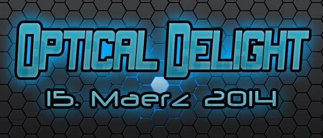 Party Flyer PsychedelicPiloten Pres. Optical Delight 15 Mar '14, 21:00