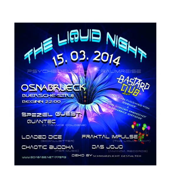 The Liquid Night 15 Mar '14, 22:00