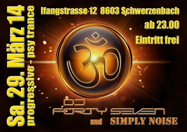 Party Flyer Progressive / Psy Trance 29 Mar '14, 23:00