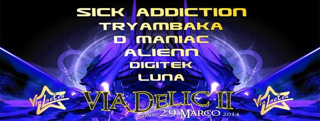 Party Flyer ViaDeLiC II 29 Mar '14, 23:30