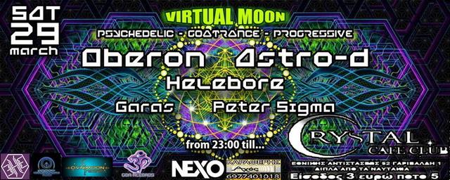 Party Flyer Virtual Moon 29 Mar '14, 23:00