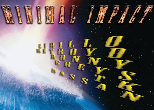 Party Flyer MINIMAL IMPACT 12 Apr '14, 23:00