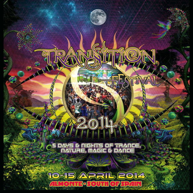 Party Flyer TRANSITION Festival 2014 10 Apr '14, 09:00